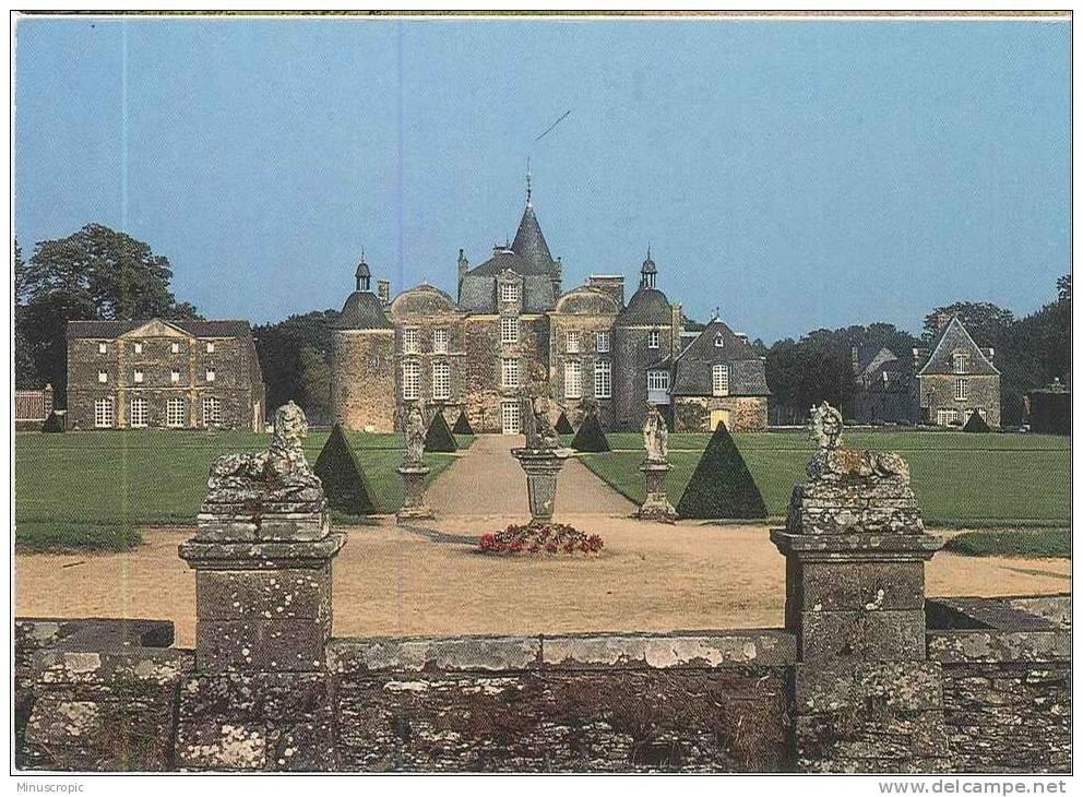 CPM 35 - Pleugueneuc - Château De La Bourbansais - France