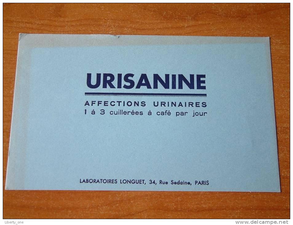 URISANINE / Lab. LONGUET  PARIS - ( Details Zie Foto ) ! - Produits Pharmaceutiques