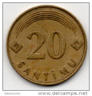 LITUANIA 20 SANTIMU 1992 - Lituania