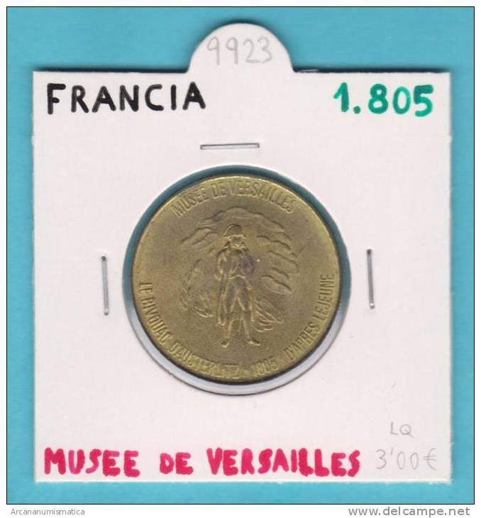 "FRANCIA / FRANCE   MEDALLA    ""MUSEE DE VERSAILLES""  1.805(1.969)    SC-/UNC-       DL-9923 - Touristiques"