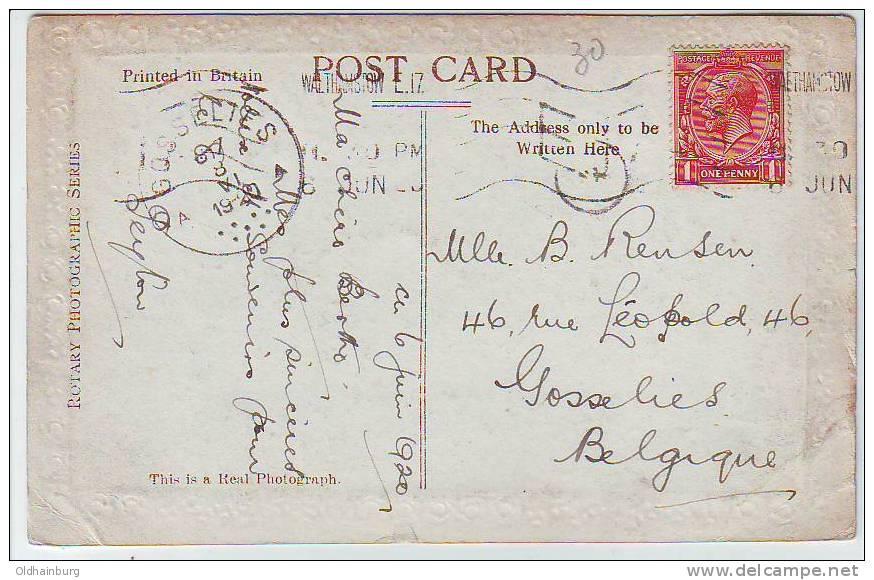 153w: Alte AK, Happy Bithday - 1902-1951 (Könige)
