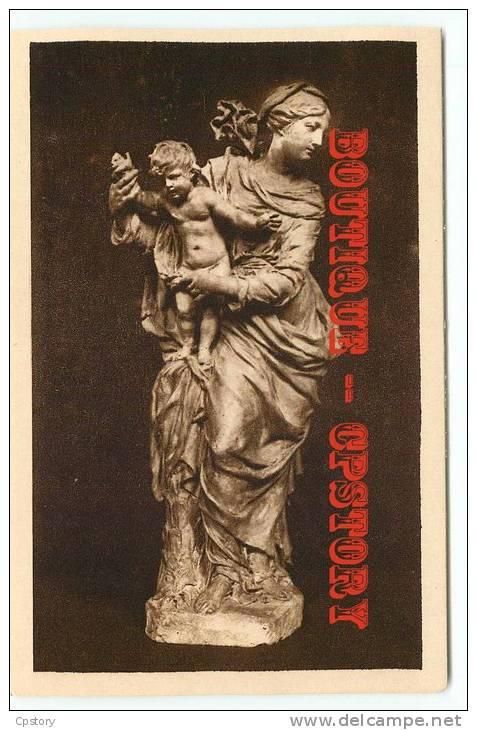 VIERGE à L'ENFANT De Coysevox - Dos Scané - Vergine Maria E Madonne