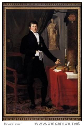 Postal Stationery Painting F DUCQ, Joseph-Fran_ois (1762, Ledegem - 1829, Bruges) - Arts
