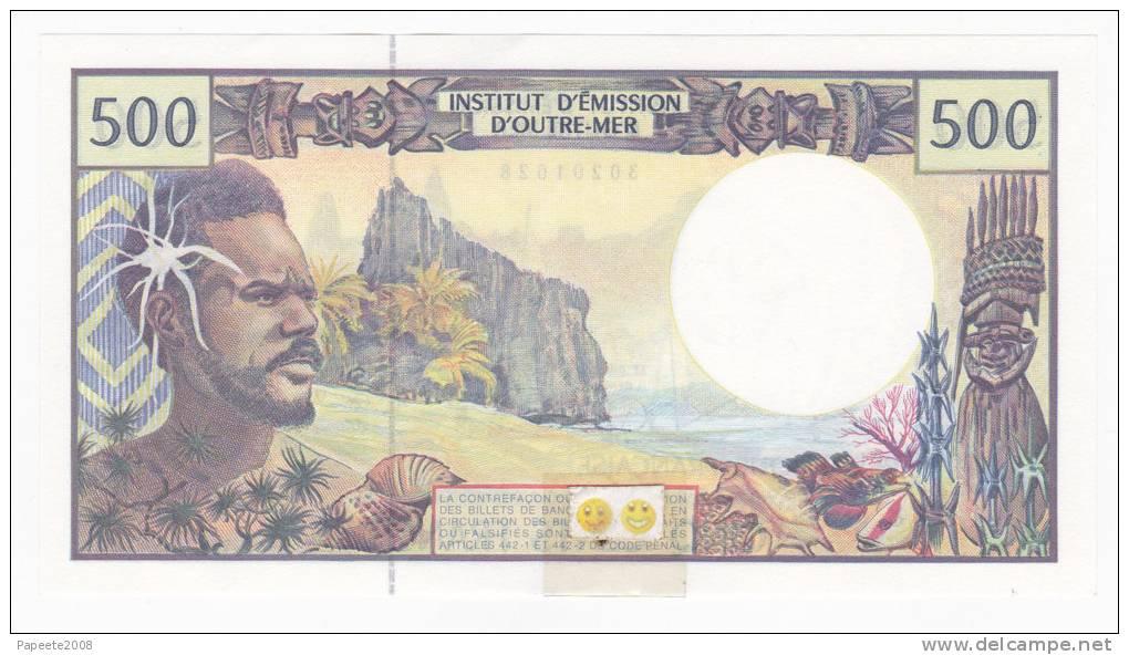 Polynésie Française - 500 FCFP - Alphabet C.013 / 2010 / Signatures Severino-Redouin-Cornaill E - Neuf  / Jamais Circulé - Papeete (French Polynesia 1914-1985)
