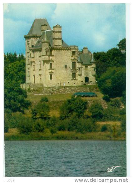 CP.  19.  ENVIRONS  DE  CLERGOUX.  LE  CHATEAU  DE  SEDIERES - France