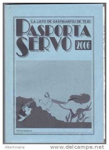 (EB) Pasporta Servo 2006 In Esperanto - Boeken, Tijdschriften, Stripverhalen