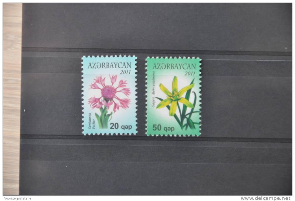 C 125 ++ AZERBAIJAN 2011 FLOWERS FLEUR BLOEMEN  MNH - Azerbeidzjan