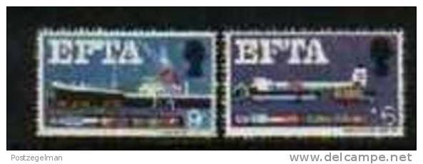 UK 1967 MNH Stamp(s) EFTA 444-445 #941 - 1952-.... (Elizabeth II)