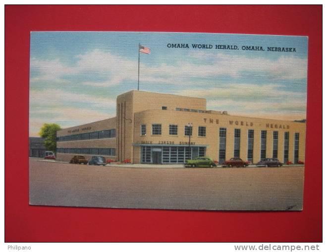 Omaha NE --  Omaha World Herald -- Linen==   == Ref 272 - Autres