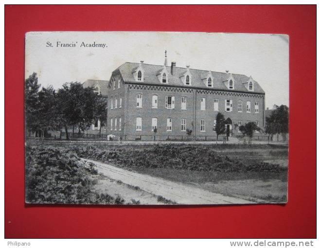 Nebraska > Bartley   St Francis Academy    1915 Cancel ==   == Ref 273 - Etats-Unis