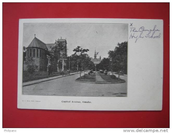 Nebraska >    Omaha Capitol Avenue Undivded Back   == Ref 274 - Etats-Unis