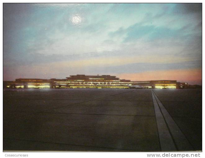 119  KOLN BONN FLUGHAFEN AIRPORT AEROPUERTO GERMANY POSTCARD OTHERS IN MY STORE - Aerodrome