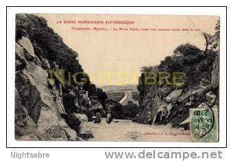 Postcard - France - Fermanville - Le Mont Varin, Manche. Posted 1907 ? (3057) - Non Classés