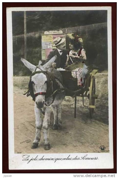 Cpa  Charette à âne   LAM20 - Burros