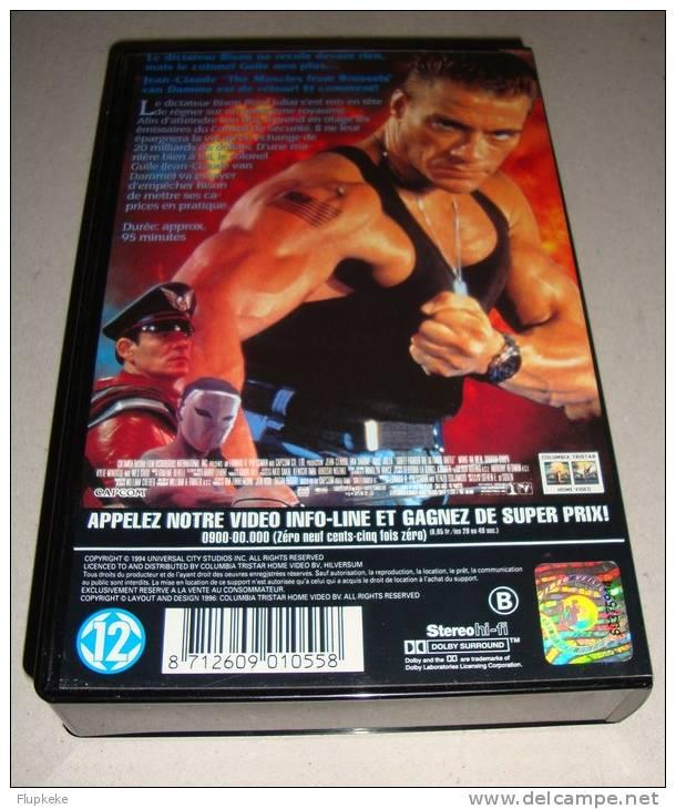 Vhs Pal Street Fighter Jean-Claude Van Damme Steven E. De Souza 1994 Version Française - Documentaires