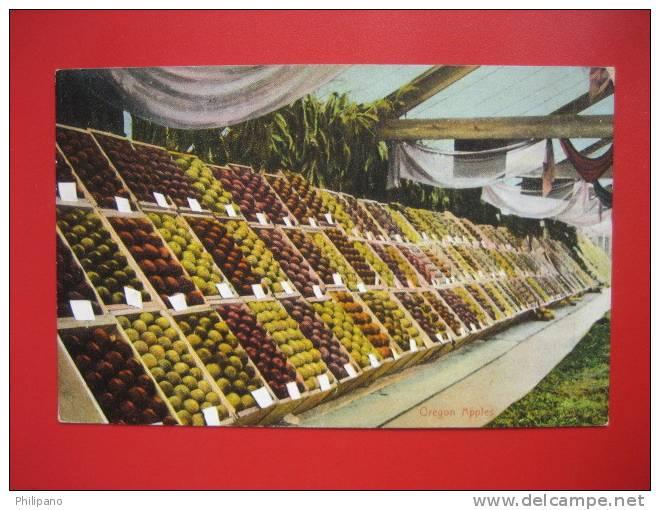 - Oregon > Oregon Apples 1908 Cancel  =   = ==ref 281 - Estados Unidos
