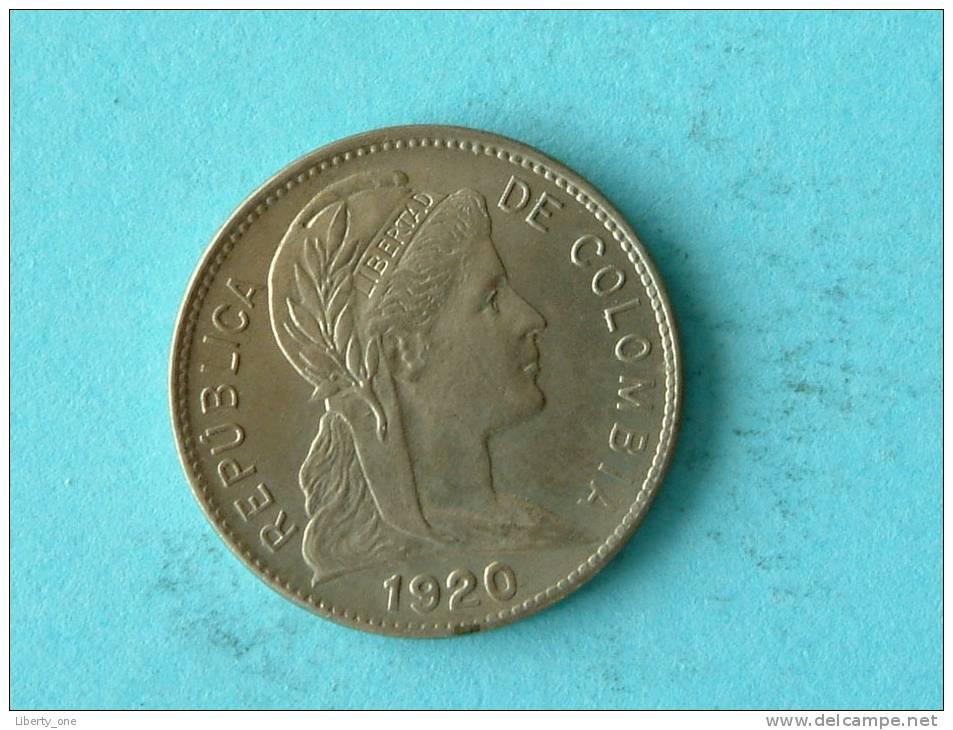 1920 - 1 CENTAVO / KM 275 ( Details Zie Foto ) ! - Colombia