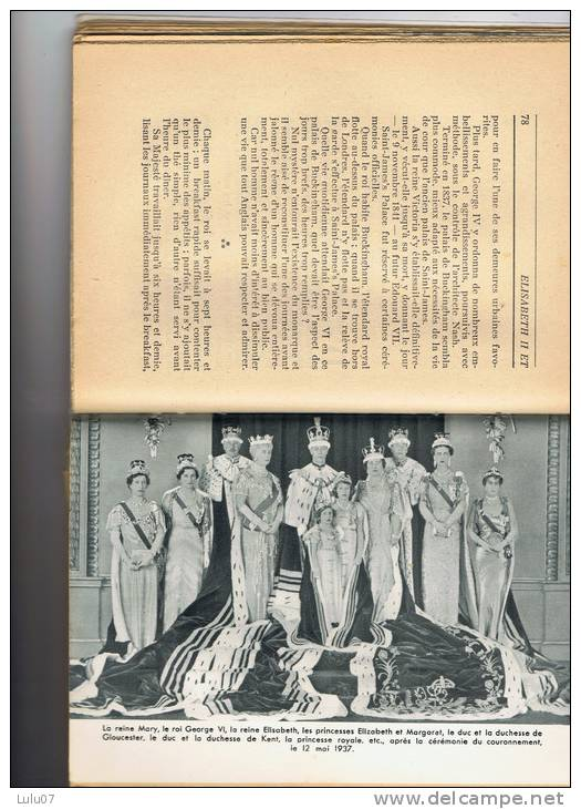 Livre   Alfred LEROY     La Famille  Royale  Anglaise    233 Page    1952  No  776 - Familles Royales