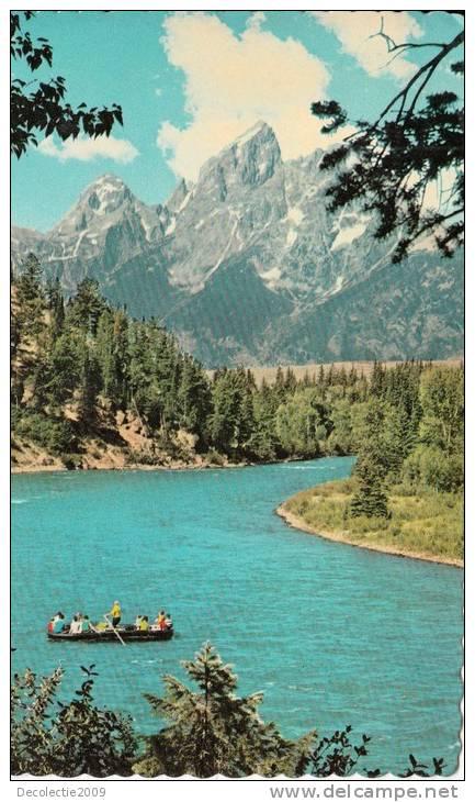 B32354 Sake River Float Trip Grand Teton National Park Used Perfect Shape - Non Classés
