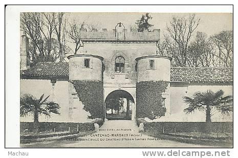 Cantenac-Margaux - Entrée Principale Du Château D'Issan - France