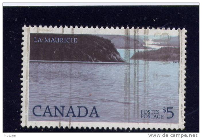 CANADA, 1986, USED, # 1084ii,  HIGH-VALUE NATIONAL PARK DEFINITIVES: LA MAURICIE, MAKERS: BRITISH AMERICAN BANK  NOTE CO - Oblitérés