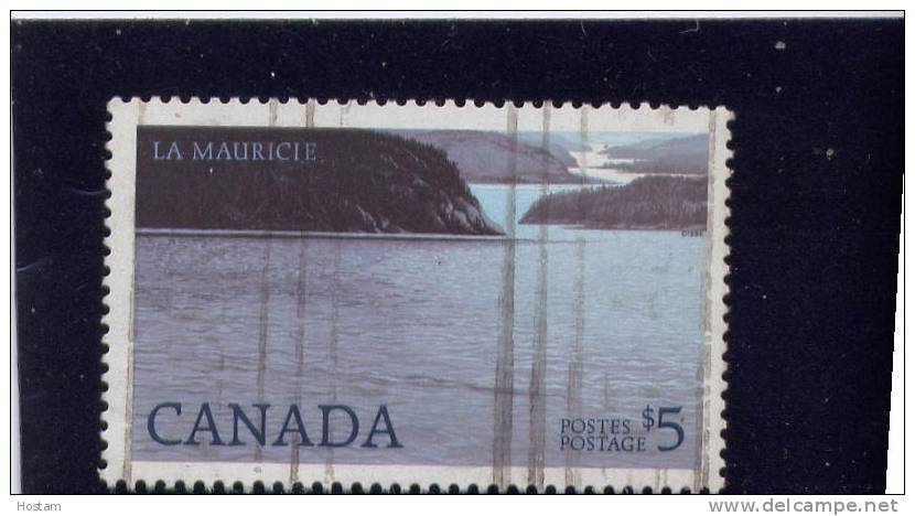 CANADA, 1986, USED, #1084ii, HIGH-VALUE NATIONAL PARK DEFINITIVES: LA MAURICIE, MAKERS: BRITISH AMERICAN BANK NOTE CO - Oblitérés