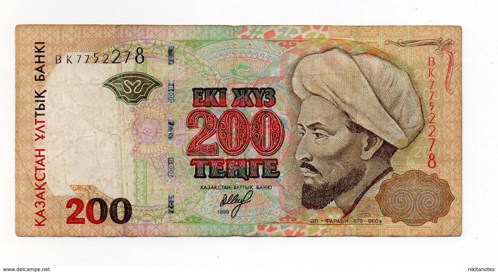 Kazakhstan 200 TENGE 1999 P 20 - Kazakhstan