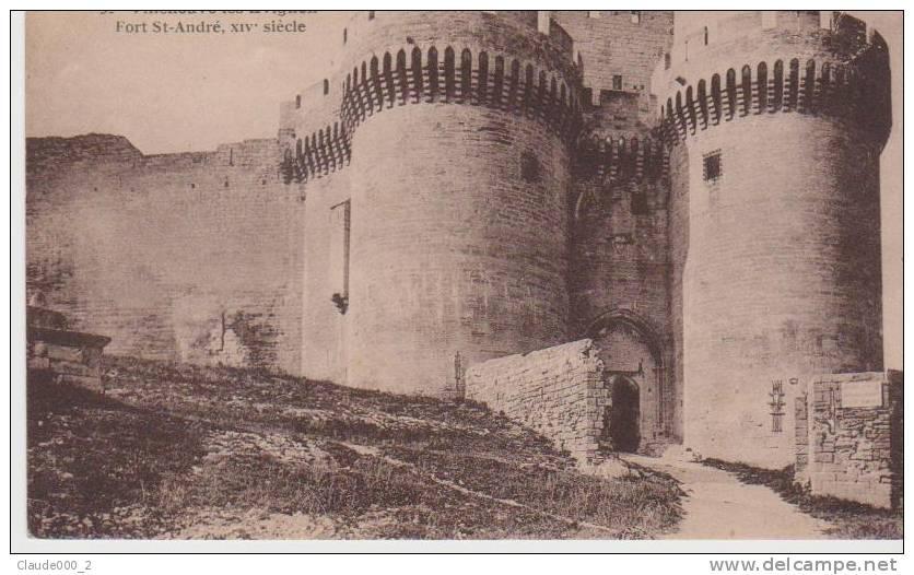CPA . VILLENEUVE LES AVIGNON . Fort St André .  Voir Recto Verso            (N669) - France