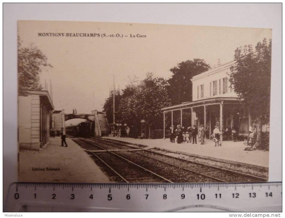 78 YVELINES MONTIGNY BEAUCHAMPS LA GARE - Montigny Le Bretonneux