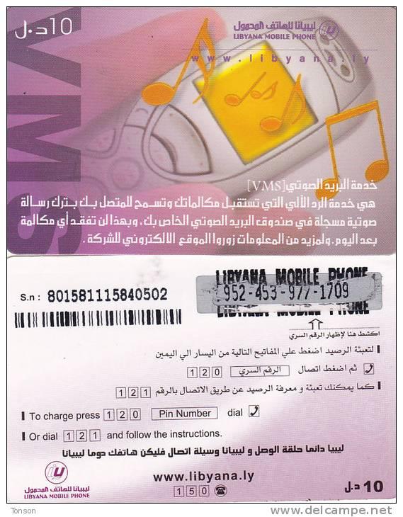 Libya, Prepaid T, Cellphone. - Libya