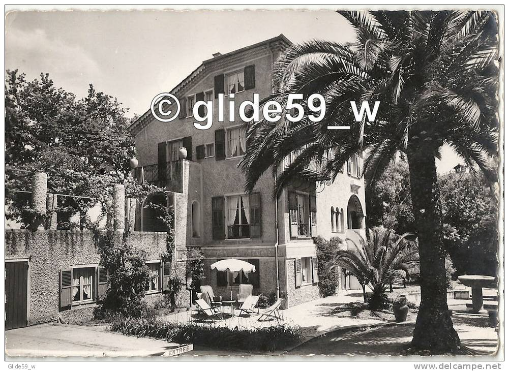 ANTIBES - JUAN-LES-PINS - Hôtel Pension Djoliba - Avenue De Provence - Le Mas - Antibes