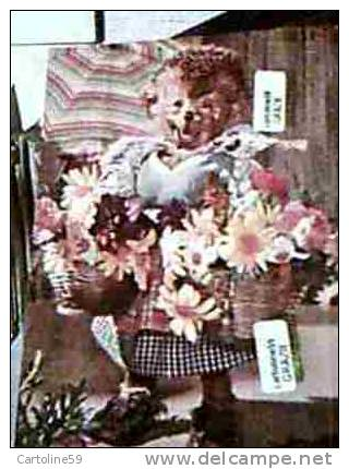 MECKI Signora CESTI DI FIORI FLOWERS V1955 DI10189 - Mecki