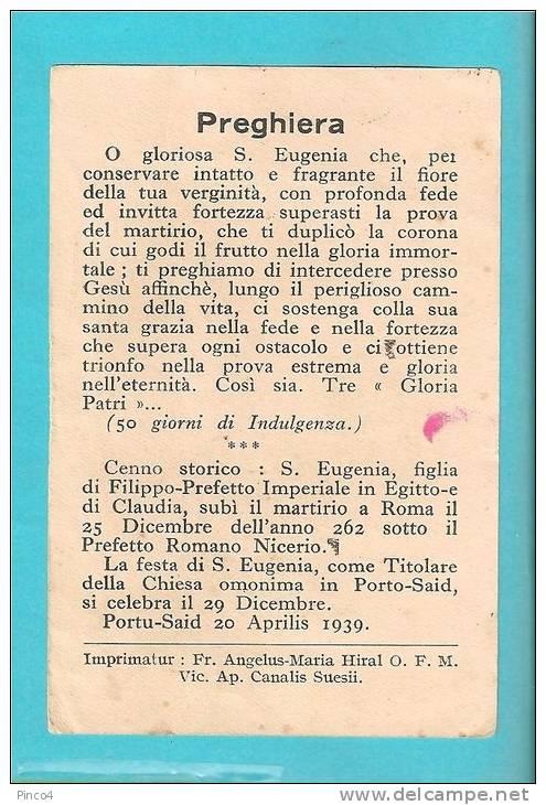 SANTINO - SANTA EUGENIA - - Santini