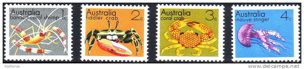 ( 1705 )  Australia - CRAB'S - Stinger . - Marine Life