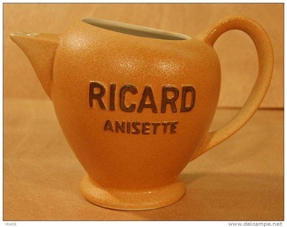 PICHET BROC RICARD ANISETTE ATELIER DE CERAMIQUE RICARD MADE IN FRANCE - Jugs