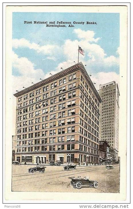 First National And Jefferson County Banks - Birmingham - Alabama - Etats-Unis