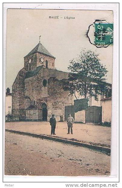 MAUZE - L'Eglise - Mauze Sur Le Mignon