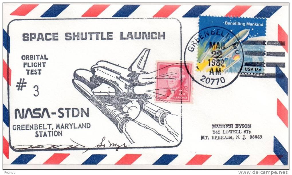★US - STS 3 - GREENBELT - LAUNCH (5895) - United States
