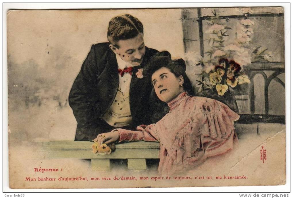 CPA 1905 COUPLE  Mon Bonheur D'aujourd'hui Mon Rêve De Demain Mon Espoir De.......Y5/3110 - Couples