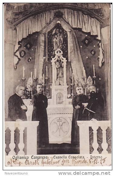 PIEMONTE - TORINO - Oglianico Canavese - Cappella Consolata - Interno - Unclassified