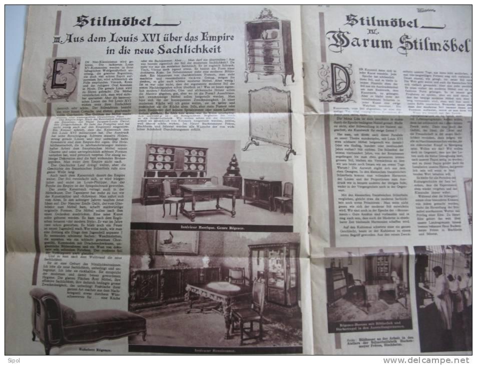 Stillmöbel Buckenmeyer Frères Bischheim & Schletstadt /Selestat  Catalogue De Mobilier De 4 Pages - Catalogues