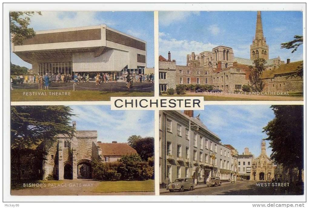 Royaume-Uni---CHICHESTER--Vues Diverses  Cpm N° 1-62-01-06  éd J.Salmon - Chichester