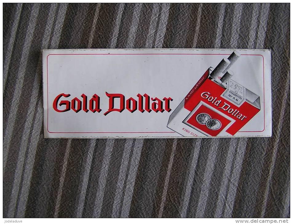 GOLD STAR  Cigarettes Autocollant Sticker Publicité Tabac - Autres