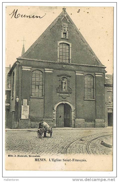 Menen  Menin  L´Eglise Saint-François - Menen