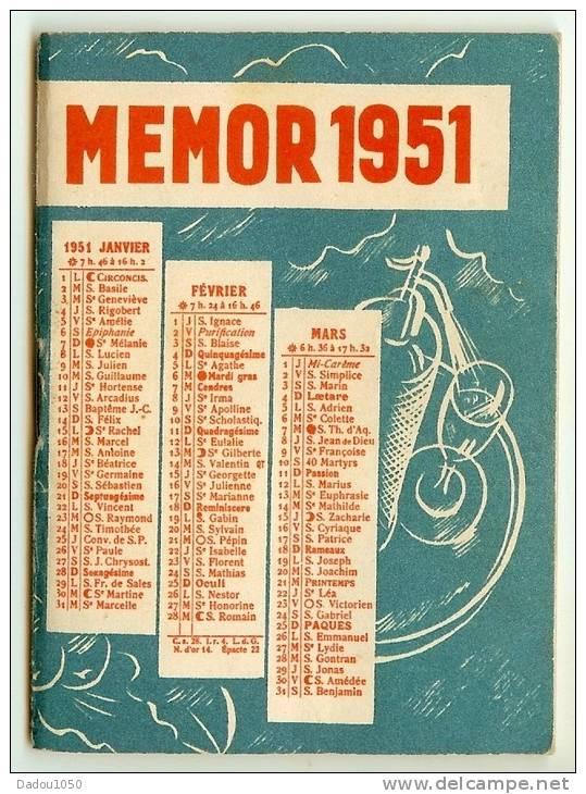 Petit Agenda CAMPARI 1951 - Calendriers
