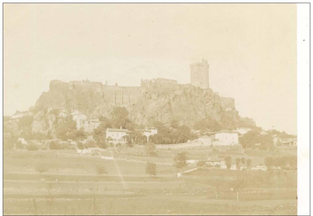 43- Château Polignac Photo 10.5 X 7.8 Cm Datant De 1895-98 - France
