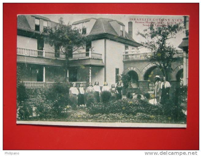 Michigan >Benton Harbor-- Israelite Colony View   - House Of David---  Ca 1910l   --   -- Ref 288 - Etats-Unis