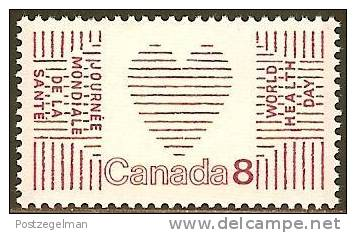 CANADA 1972 MNH Stamp(s) World Heart Month 498 #5603 - Health
