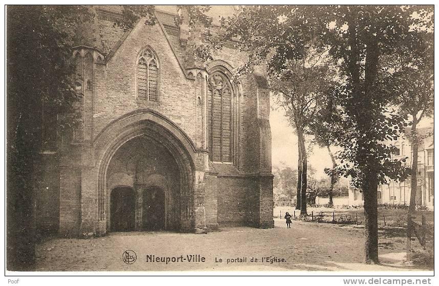 Nieuwpoort / Nieuport : Le Portait De L'Eglise - Nieuwpoort