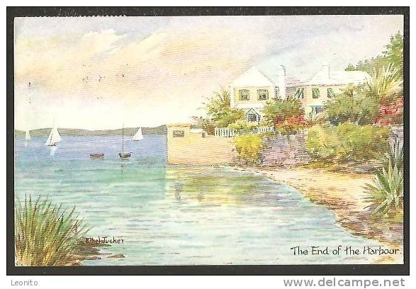 Hamilton Bermuda The End Of The Harbour 1963 - Bermuda
